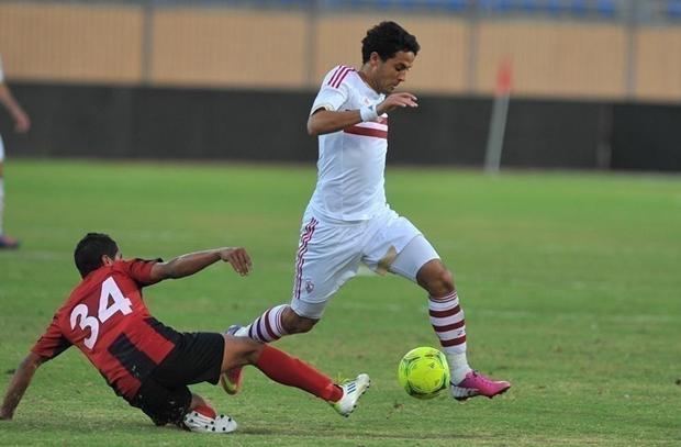 إيقاف محمد إبراهيم لاعب الزمالك بسبب الحديث عن المنشطات